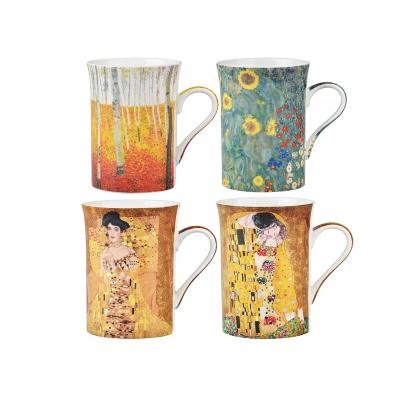 Набор коллекционных кружек климт, 4 шт. (924-022)