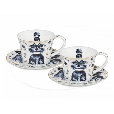 Чайный набор собака, 4 пр. (924-045)