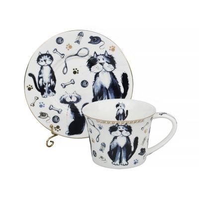 Чайный набор коты, 12 пр. (924-046)