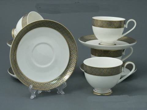 Чайный набор с каймой