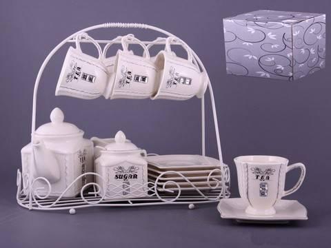 Чайный набор Гламур на подставке