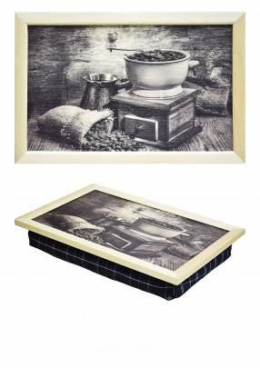 Поднос на подушке Кофейный дом