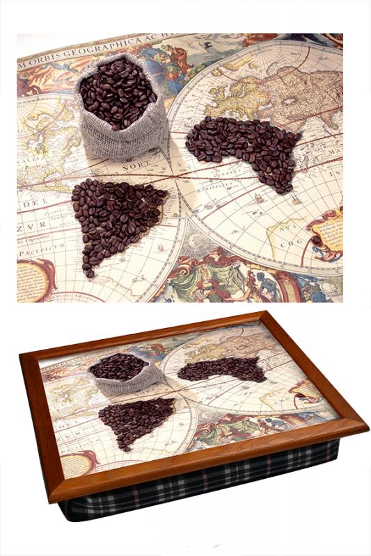Поднос Кофейная карта