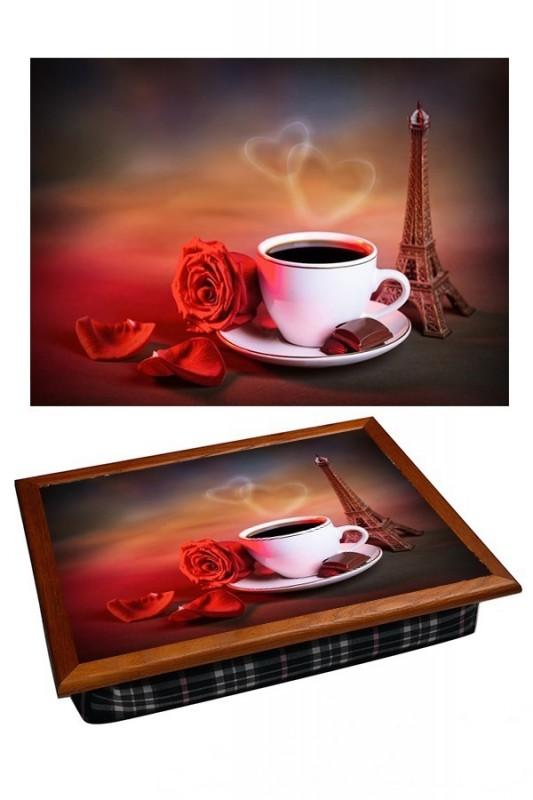 Поднос на подушке Кофейная романтика