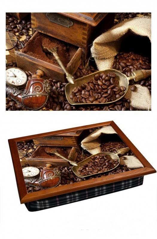Поднос на подушке Молотый кофе