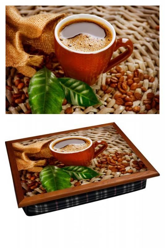 Поднос на подушке Кофейный аромат