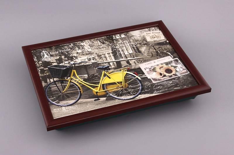 Поднос на подушке Велосипед
