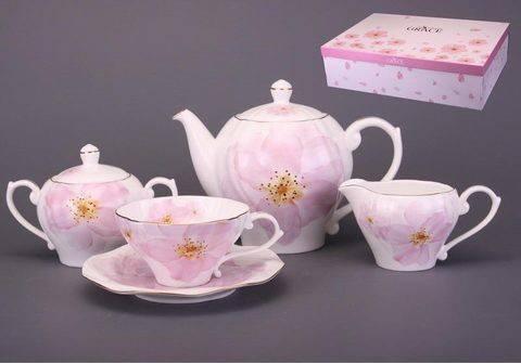 Чайный набор Грейс на 6 персон