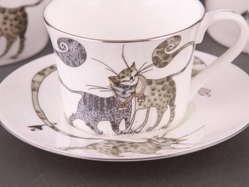 Чайный набор Котики