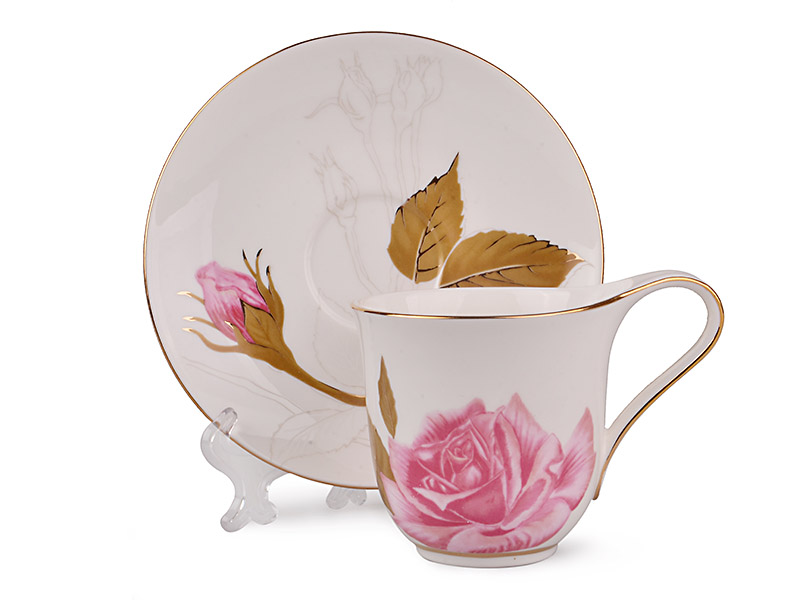Чайный набор чайная роза, 12 пр.