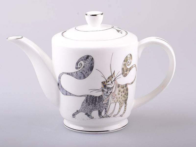 Чайник Веселые коты