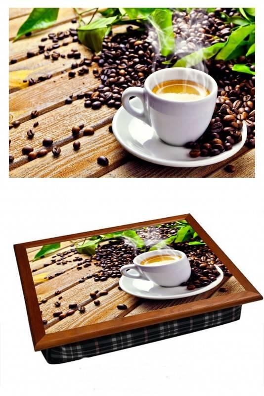Поднос на подушке Кофейное утро