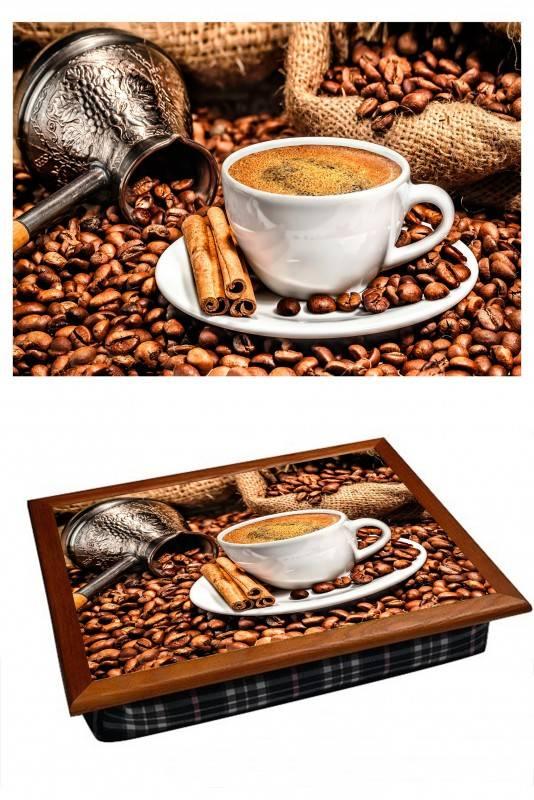 Поднос на подушке Кофейная турка