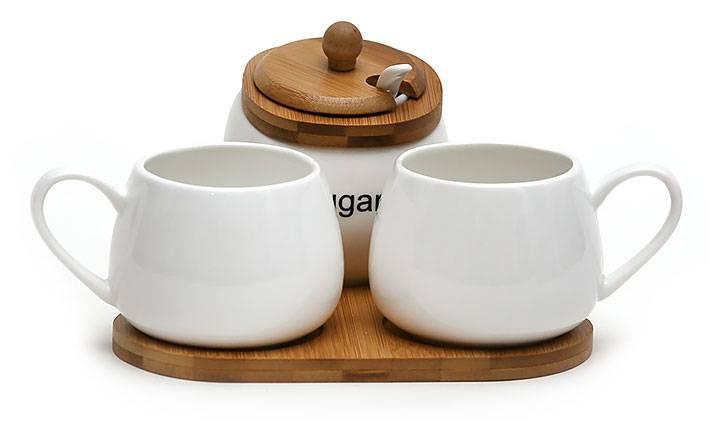 Чайный набор с сахарницей Naturel