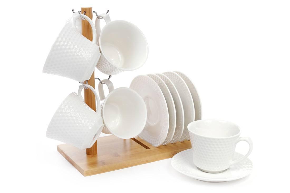 Чайный набор на подставке Naturel