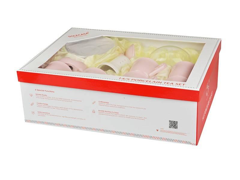 Чайный набор Pink, 14 пр.