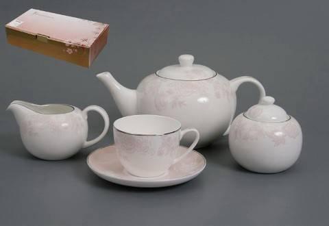 Чайный набор Розовый шелк