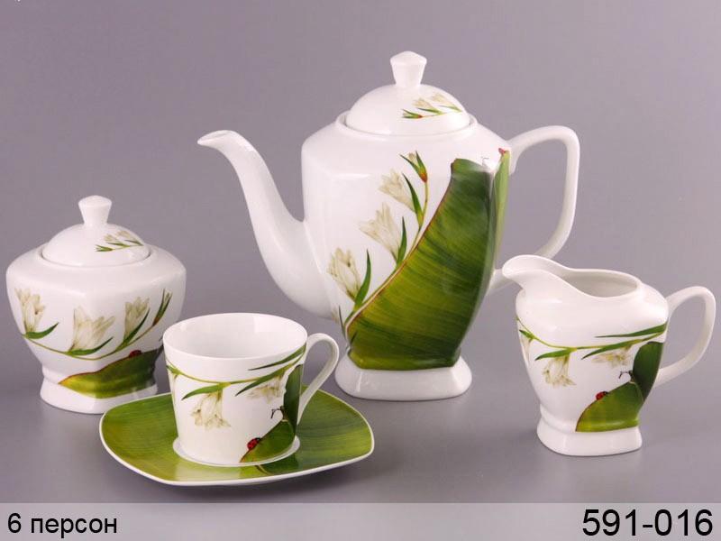 Чайный сервиз Ландыш на 6 персон