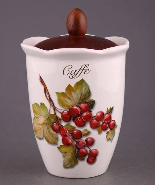 Банка для кофе в Лесная ягода