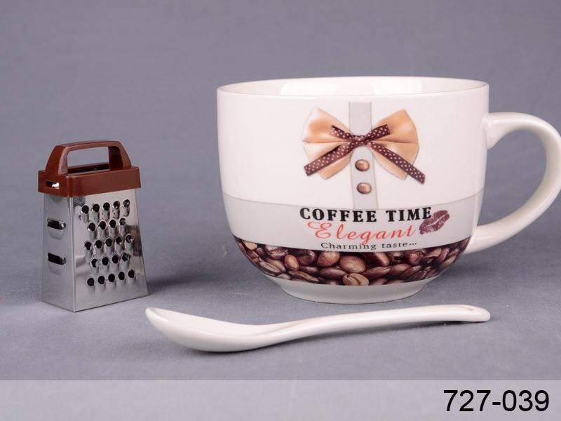 Большая кружка Coffee Time, 510 мл