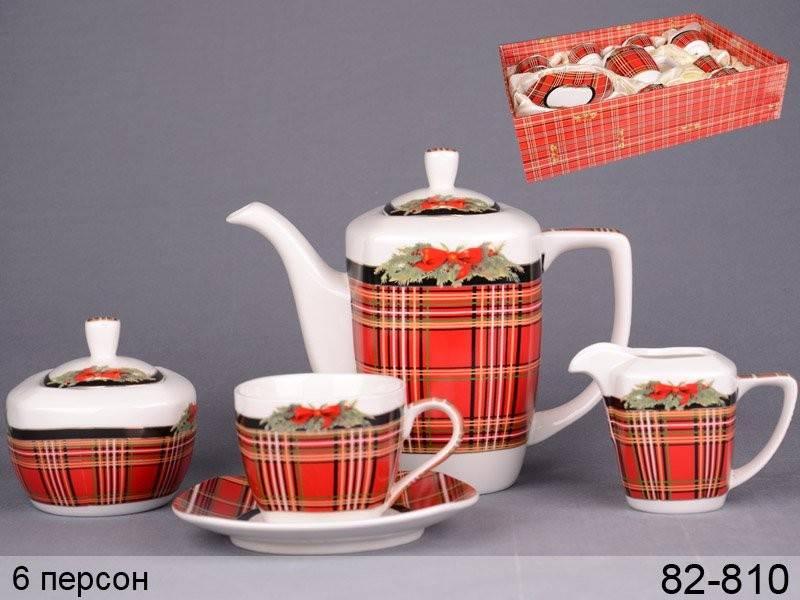 Чайный сервиз Рождественский