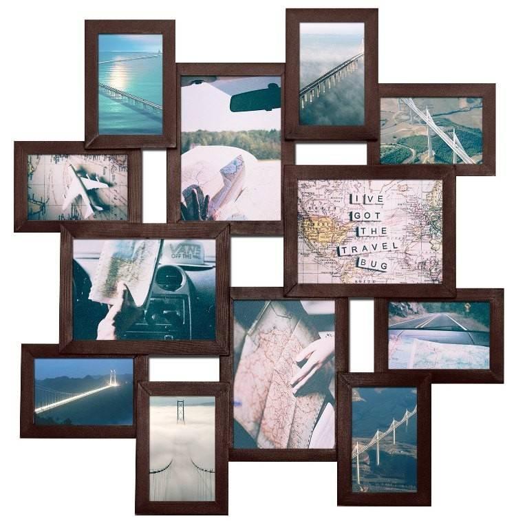 Как сделать рамку для фотографий на стену