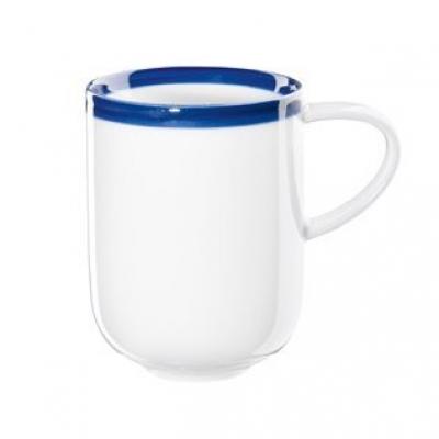 Кружка с синим ободком (12013433)