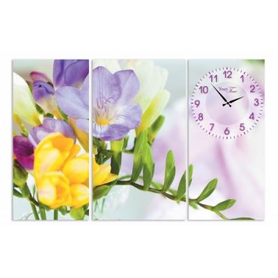 Часы на холсте Весна (06-405)