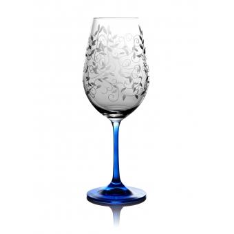 Бокалы для вина Viola кобальт, 2 шт. (06-02-450-2-047)