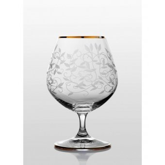Viola набор бокалов для коньяка (Lido золото) 6 шт.