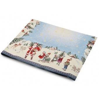 Скатерть гобеленовая новогодняя (063-003)