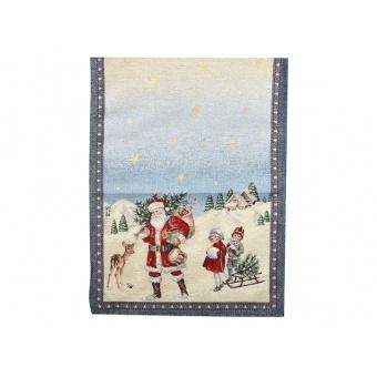 Дорожка гобеленовая новогодняя (063-006)
