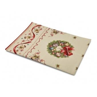 Скатерть гобеленовая новогодняя (063-009)