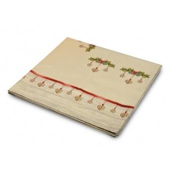 Скатерть гобеленовая новогодняя (063-023)