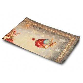 Скатерть гобеленовая новогодняя (063-026)