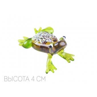 Декоративное изделие из стекла лягушонок (067-101)