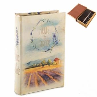 Книга сейф Лавандовое поле (092UE)