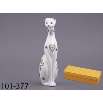 Декоративная фигурка кошка