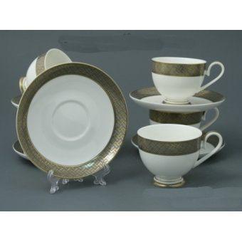 Чайный набор с каймой (131-005)