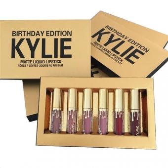 Набор матовых помад Kylie Birthday Edition 6в1 (Kylie-6)