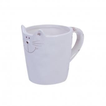 Кружка Белый кот (106886)