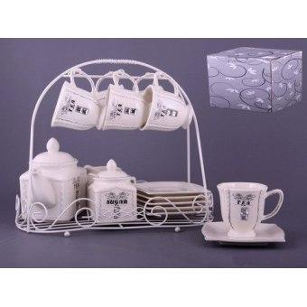 Чайный набор Гламур на подставке (64-209)
