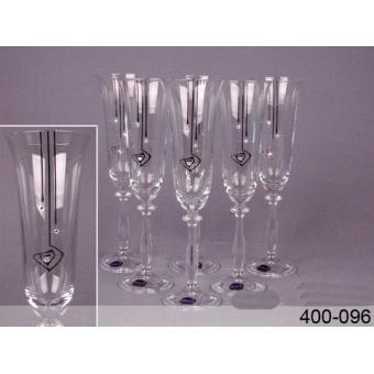 Набор бокалов для шампанского (400-096)