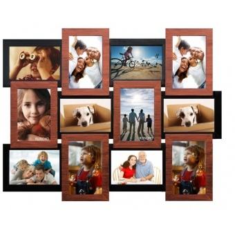 Мультирамка Медное мерцание на 12 фотографий (ММ-12)