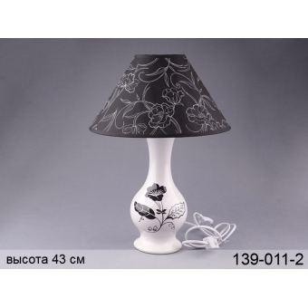 Светильник с абажуром (139-011-2)