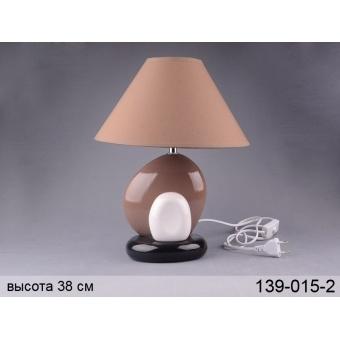 Светильник с абажуром (139-015-2)