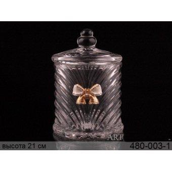 Сахарница стеклянная Принцесса (480-003-1)