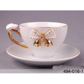 Чашка с блюдцем Принцесса (494-016-1)
