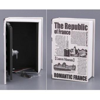 Книга-сейф Романтическая Франция (142-121)