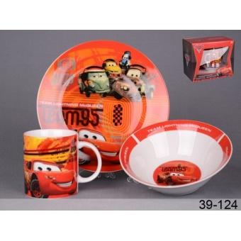 Набор детской посуды Тачки (39-124)
